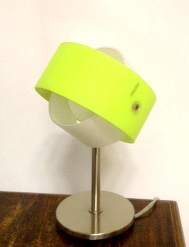 Lampada da comodino moderna Tourbillon LP verde, sconto 50%, 3 pezzi disponibili