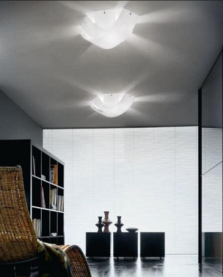 Lampada da soffitto moderna Tourbillon PL P9632 bianco, sconto 50% -  PRODOTTO ESAURITO
