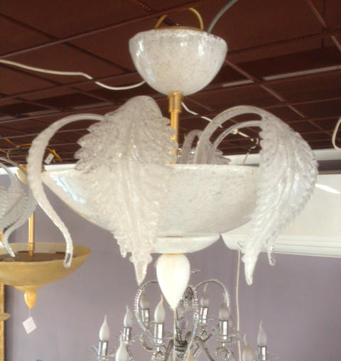 Lampada da soffitto La Murrina Turandot R50 graniglia bianca, sconto 50% -  PRODOTTO ESAURITO