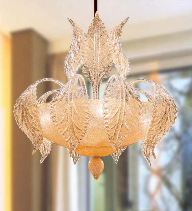 Sospensione La Murrina Turandot S50 graniglia ambra, sconto 50% -  PRODOTTO ESAURITO