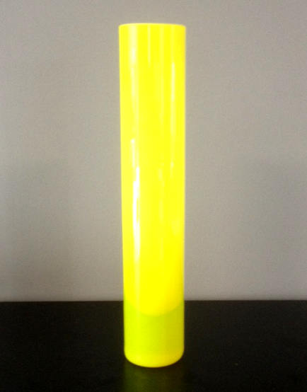 Vaso Mono fiore Giocosi giallo, 1 pezzo disponibile, sconto 50%, prezzo scontato 30,50 Euro