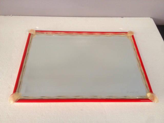 Vassoio Rosso, 1 pezzo disponibile, sconto 50%, prezzo scontato 80,52 Euro